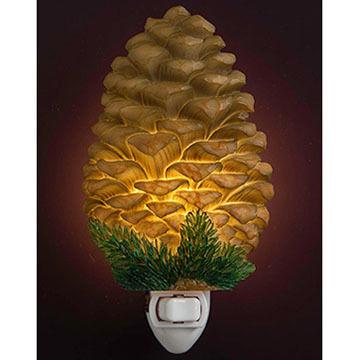 Ibis & Orchid Design Large Pinecone Nightlight