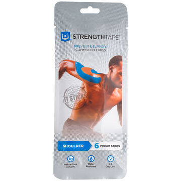 StrengthTape Kit Pre-Cut Kinesiology Tape