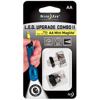 Nite Ize AA Mini Maglite 30 Lumen LED Upgrade Combo II Kit