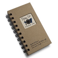 "Journals Unlimited ""Write it Down!"" Mini-Size Dining Out Journal"