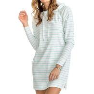 Southern Tide Women's Ocean Front Striped Tunic Hoodie