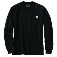 Carhartt Men's Loose Fit Heavyweight Pocket Antler Graphic Long-Sleeve T-Shirt