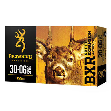 Browning BXR Rapid Expansion 308 Win 150 Grain Matrix Tip Rifle Ammo (20)