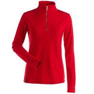 NILS Women's Robin Quarter-Zip Turtleneck Long-Sleeve Top