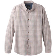 prAna Men's Broderick Check Long-Sleeve Shirt