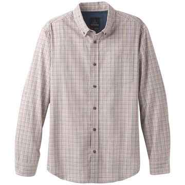 prAna Mens Broderick Check Long-Sleeve Shirt