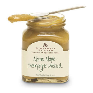 Stonewall Kitchen Mini Maple Champagne Mustard 3.5 oz.