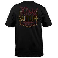 Salt Life Men's Neon Tails Short-Sleeve T-Shirt