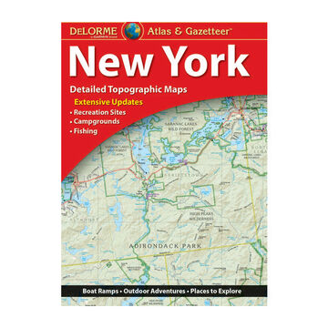DeLorme New York Atlas & Gazetteer