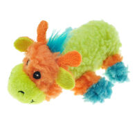 Chomper Mini Sherpa Fleecy Friends Giraffe Dog Toy
