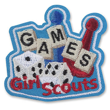 Girl Scouts Games Sew-On Fun Patch