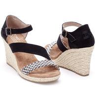 TOMS Women's Clarissa Woven Wedge Sandal