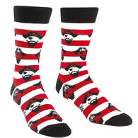 Sock It To Me Men's Argh Ye Stripey Crew Sock