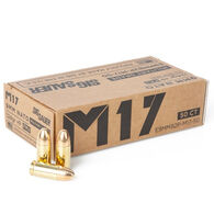 SIG Sauer M17 Elite Ball 9mm+P 124 Grain FMJ Pistol Ammo (50)