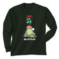 Earth Sun Moon Trading Women's Mistletoad Long-Sleeve T-Shirt