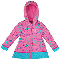 Stephen Joseph Girl's Princess Rain Jacket