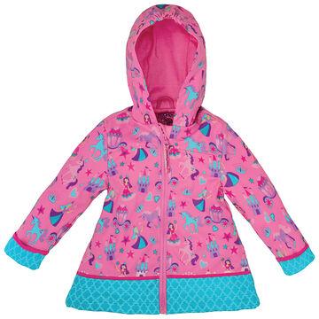 Stephen Joseph Girls Princess Rain Jacket