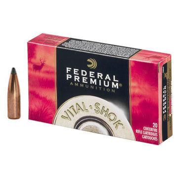 Federal Premium Vital-Shok 30-06 Springfield (7.62x63mm) 165 Grain Nosler Partition Rifle Ammo (20)