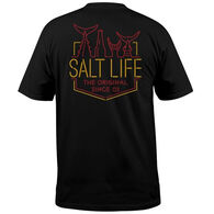 Salt Life Men's Neon Tails Short-Sleeve T-Shirt
