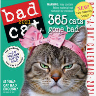 Bad Cat 2021 Page-A-Day Calendar by Workman Publishing