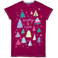Hatley Women's Pattern Trees Sleepshirt