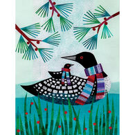Allport Editions Cozy Loons Boxed Holiday Cards