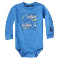Carhartt Infant/Toddler Boys' Gone Fishing Long-Sleeve Bodyshirt