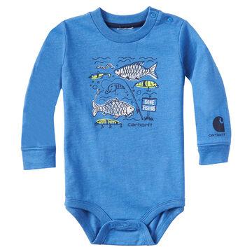 Carhartt Infant/Toddler Boys Gone Fishing Long-Sleeve Bodyshirt