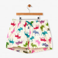 Hatley Women's Patterned Moose Sleep Short