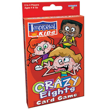 PlayMonster Crazy Eights Card Game