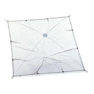 Ed Cumings Umbrella Minnow Mesh Throw Net