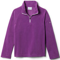 Columbia Girl's Glacial Fleece Quarter-Zip Long-Sleeve Pullover Top