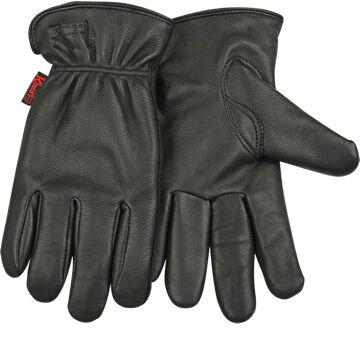 Kinco Men's Lined Grain Deerskin Driving Glove