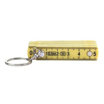 Kikkerland Folding Ruler Keychain