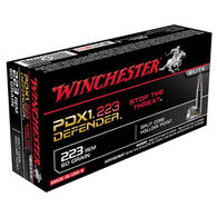 Winchester PDX1 Defender 223 Rem 60 Grain Split Core HP Rifle Ammo (20)
