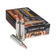 SIG Sauer Elite Performance HT 223 Remington 60 Grain JHP Ammo (20)