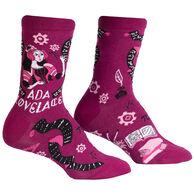 Sock It To Me Women's Ada Lovelace Crew Sock