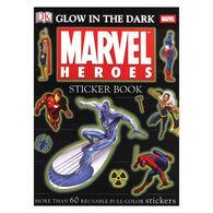 DK Ultimate Sticker Book: Glow in the Dark Marvel Heroes by DK