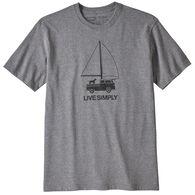 Patagonia Men's Live Simply Wind Powered Responsibli-Tee Short-Sleeve T-Shirt