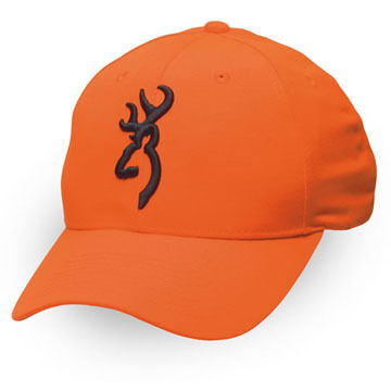 Browning Mens Safety Cap with Buckmark Logo