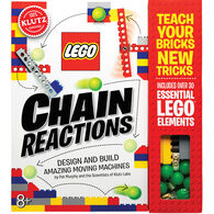 Klutz LEGO Chain Reactions Craft Kit by Pat Murphy & The Scientists of Klutz Labs