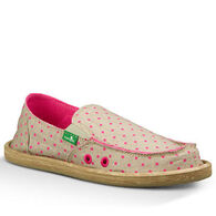 Sanuk Girls' Hot Dotty Slip-On Shoe