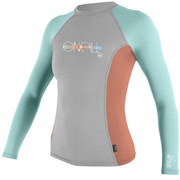 O'Neill Girls' Skins Long-Sleeve Crew Shirt