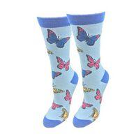 Sock Harbor / Ocean Beach Women's Butterfly Crew Sock