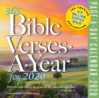 365 Bible Verses-A-Year 2020 Page-A-Day Calendar by Workman Publishing