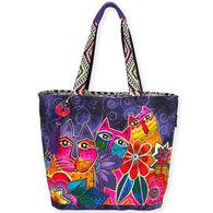 Sun N Sand Women's Laurel's Garden Shoulder Tote Bag