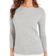 Vineyard Vines Women's Simple Boatneck Long-Sleeve Shirt