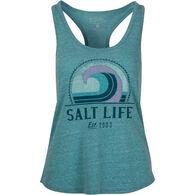Salt Life Women's Retro Wave Tri-Blend Tank Top