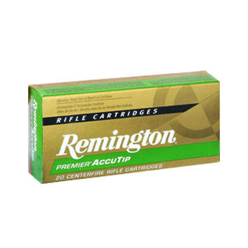 Remington Premier AccuTip 300 AAC Blackout 125 Grain MatchKing Flat Base Rifle Ammo (20)