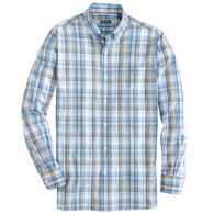 Fish Hippie Men's Windward Tattersall Long-Sleeve Shirt